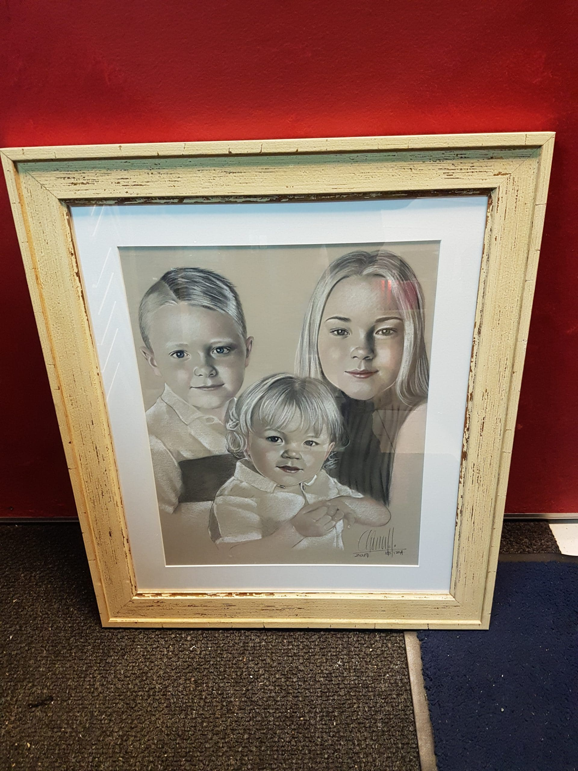 driftwood style picture frame