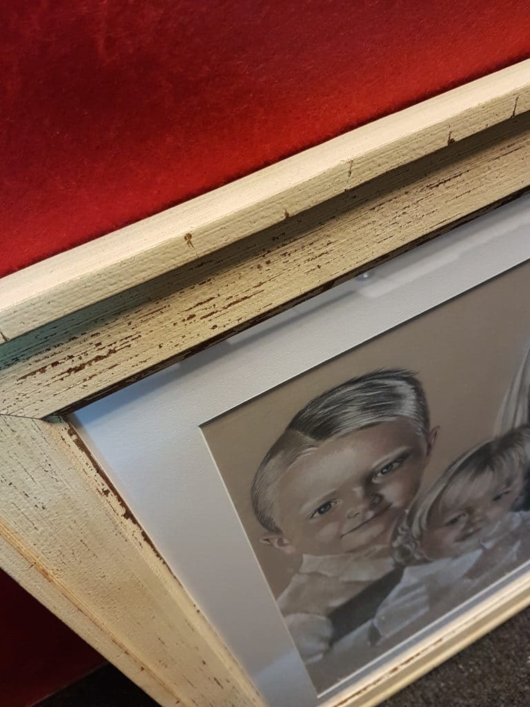 driftwood style picture frame, North West Picture and Sports Framing