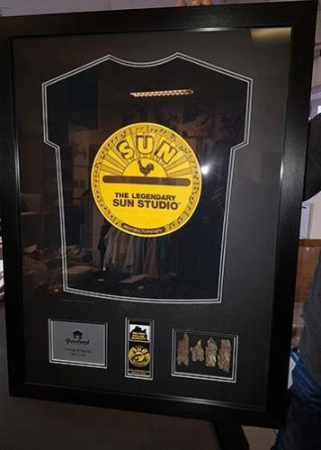 Memorabilia Framing, Memorabilia Gallery, North West Picture and Sports Framing, North West Picture and Sports Framing