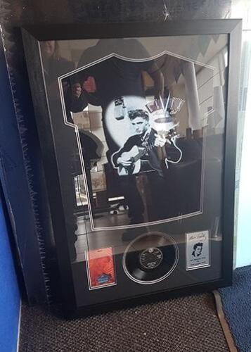 framed Elvis T shirt with tickets